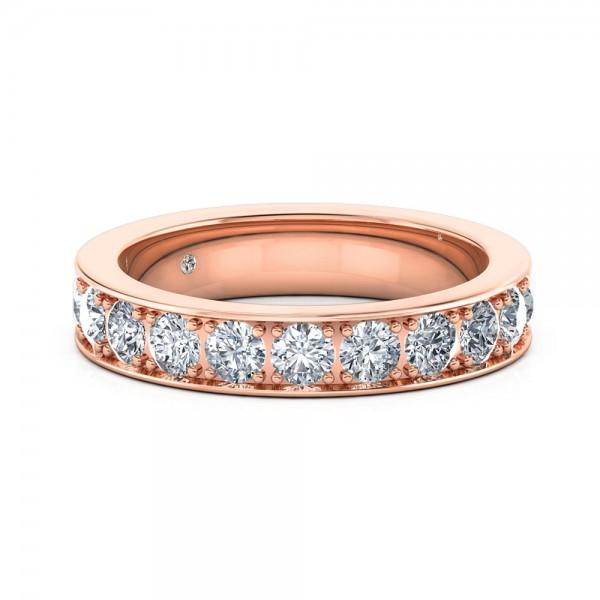 Diamond Eternity Ring 18K White Gold