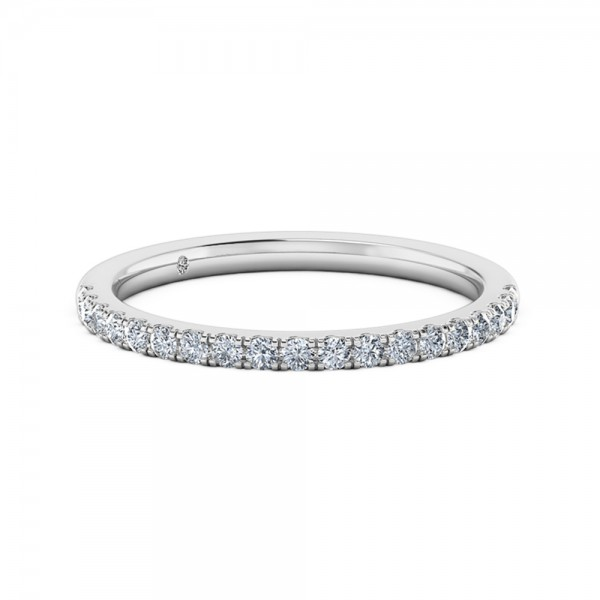 Diamond Eternity Ring 18K White Gold